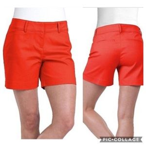 """The Limited Tailored Short 5"""" Harvest Red NWT"""